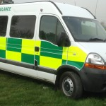 2007 and 2008 Renault Master PTS.  Choice of 4. Complete with stretcher.  Some with blue lights. Full battenberg kit can be supplied and fitted (at extra cost). Price from £5000 + VAT