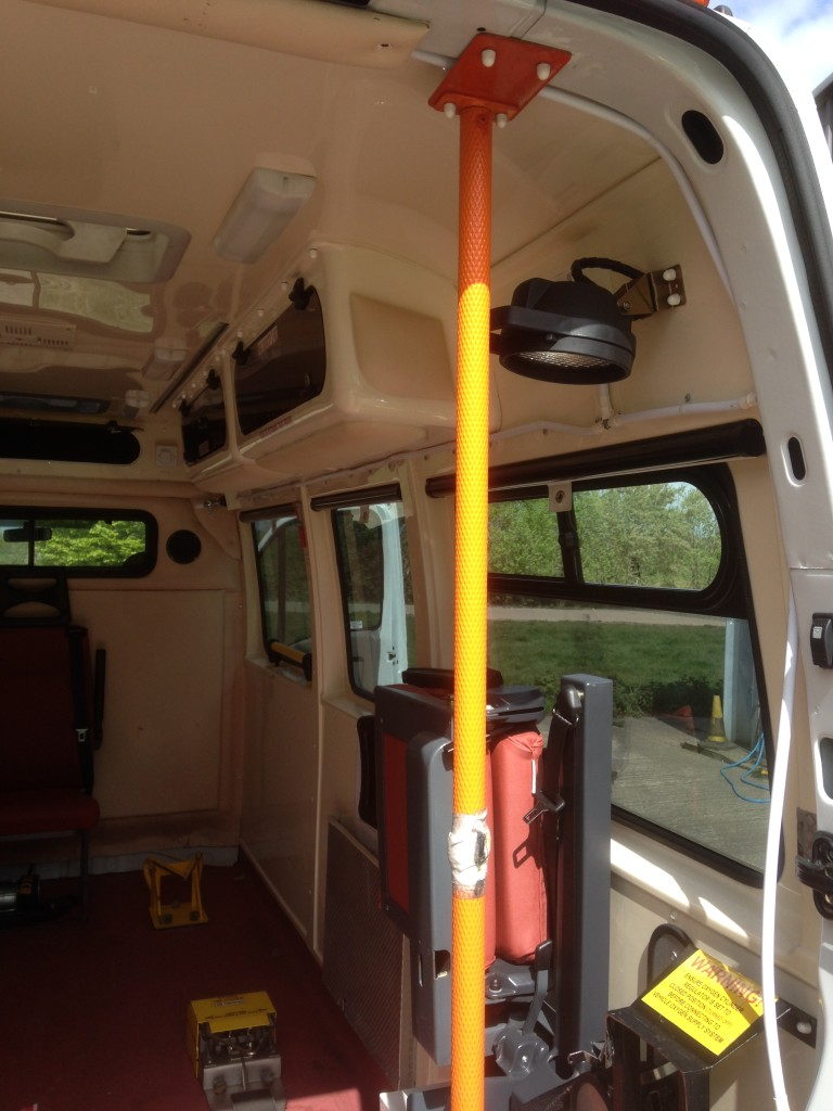 Stretcher capable interior version