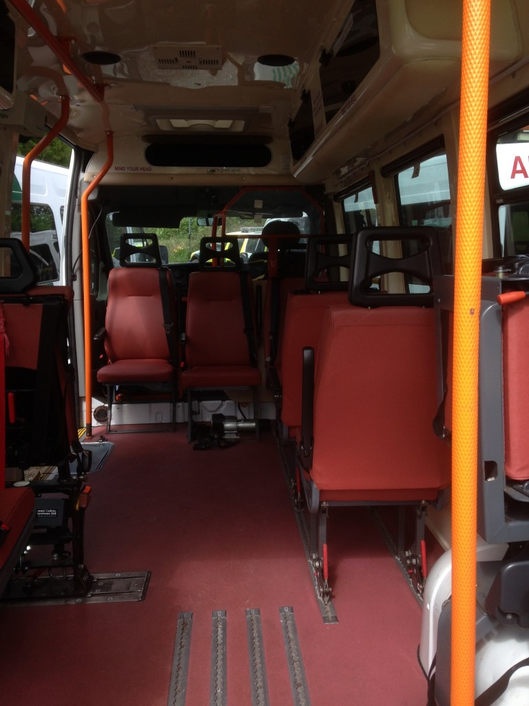 All seater interior version